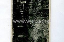 1. Weltkrieg Deutsches Heer Foto, Hauptsanitätsunterstand