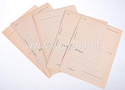 Wehrmacht 12 unbenutzte Feldpostbriefe