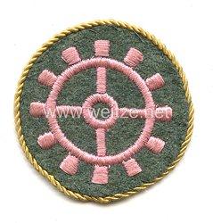 Wehrmacht Heer Ärmelabzeichen für einen Kfz- Vorhandwerker