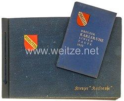 Kriegsmarine Fotoalbum, Angehöriger des Kreuzer