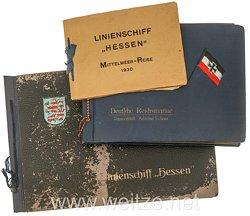 Kriegsmarine Fotoalben, Angehöriger auf dem Linienschiff