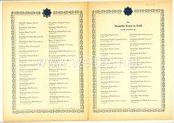 Verleihungsliste für das Deutsche Kreuz in Gold - September 1944