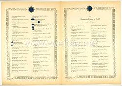 Verleihungsliste für das Deutsche Kreuz in Gold - Juni 1944