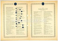 Verleihungsliste für das Deutsche Kreuz in Gold - Dezember 1943
