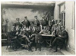 Deutsches Kaiserreich: Foto einer Burschenschaft