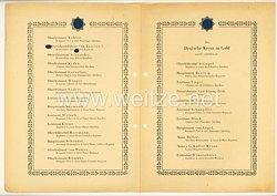 Verleihungsliste für das Deutsche Kreuz in Gold - Februar 1943