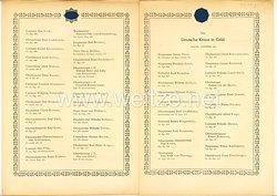 Verleihungsliste für das Deutsche Kreuz in Gold - Mai 1944