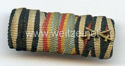 Bandspange für einen mecklenburgischen Veteranen des 1. Weltkriegs