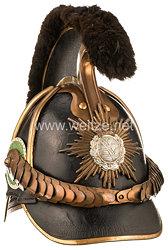 Sachsen Helm Modell 1867 für Mannschaften des II. Sächsischen Reiter-Regiments