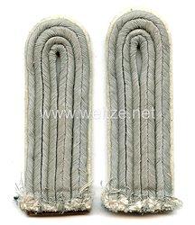 Wehrmacht Heer Paar Schulterstücke für einen Leutnant der Infanterie