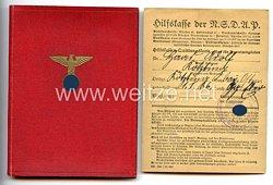 NSDAP - Mitgliedsbuch Nr. 3622006 für einen Mann aus Kötzting