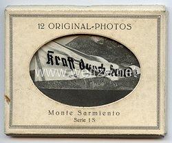 """III. Reich """" Kraft durch Freude """" - 12 Original-Photos """" Monte Sarmiento """" ( Serie 1 S )"""
