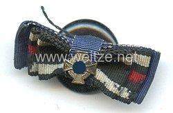 Knopflochdekoration für einen Frontsoldaten des 1. Weltkrieges und späteren Beamten