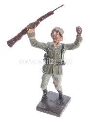 Lineol - Heer Soldat getroffen nach hinten fallend