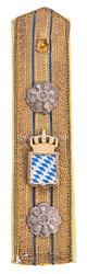 Bayern Einzel Feldachselstück Modell 1866 für einen Direktor Proviantämter