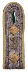 Preußen Einzel Schulterstück für einen Rittmeister im Jäger-Regiment zu Pferde Nr. 3