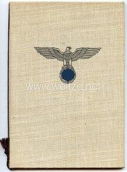 HJ - Kampfspiele der Hitler-Jugend 1939 - Verleihungsmappe für die silberne Siegernadel 1939