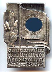 III. Reich - Gauparteitag Württemberg Hohenzollern - Stuttgart 25.2. 1934