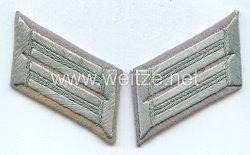 Wehrmacht Heer Paar Kragenspiegel für Offiziere der Propagandakompanie