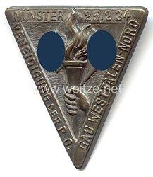III. Reich - Vereidigung der P.O. Gau Westfalen-Nord Münster 25.2.1934