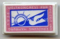 III. Reich - Weltkongress für Freizeit und Erholung Hamburg 1936