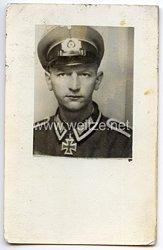 Heer - Originalunterschrift von Ritterkreuzträger Unteroffizier Georg Pankow