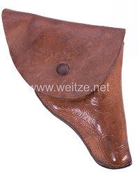 Wehrmacht braune Pistolentasche für eine Pistole Kaliber 7,65'.