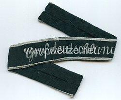 """Wehrmacht Heer Ärmelband """"Großdeutschland"""" für Offiziere"""