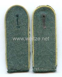 Wehrmacht Heer Paar Schulterklappen für Mannschaften der Nachrichtentruppe