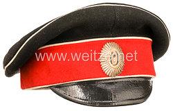 Zaristisches Russland Schirmmütze für Offiziere des 5. Alexandria Husaren-Regiment I.M. Kaiserin Alexandra Feodorovna