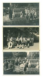 Hitlerjugend Fotos, Beerdigung eines HJ Jungen