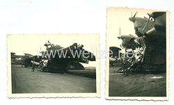 Luftwaffe Fotos, zerstörterMesserschmitt Me 323
