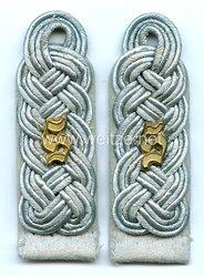Wehrmacht Heer Paar Schulterstücke für einen Major der Infanterieschule