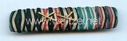 Bandspange eines bayerischen Veteranen des 1. Weltkriegs and späteren Luftschutz Angehörigen