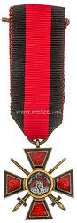 RußlandSt. Wladimir-Orden, Kreuz 4. Klasse mit Schwertern.