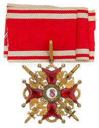 Rußland St. Stanislaus Orden, Kreuz 2. Klasse mit Schwertern