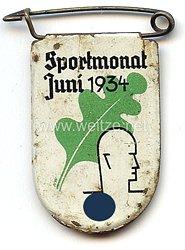 III. Reich - Sportmonat Juni 1934