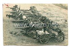 Wehrmacht Heer Foto, Feldgeschütze