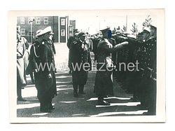 III. Reich Pressefoto: Adolf Hitler in Wilhelmshafen 30.9.1939