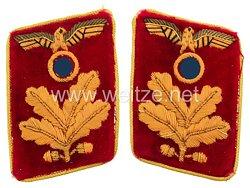 NSDAP Paar Kragenspiegel Reichsleitung Befehlsleiter, ab 1939