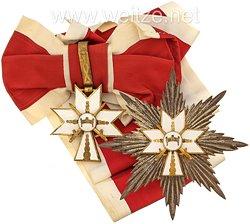 Kroatien 2. Weltkrieg Orden der Krone König Zvonimirs Großkreuz Satz mit Schwertern