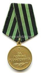 Sowjetunion 2. Weltkrieg: Medaille für die Eroberung von Königsberg 1945