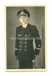 Kriegsmarine Foto, Technischer Beamter im mittleren Dienst