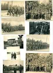 Hitlerjugend Fotogruppe, HJ-Flakhelfer im Ausbildungslager 6 / 838 1944