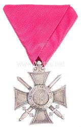 Königreich Bulgarien St. Alexander-Orden 2. Modell VI. Klasse mit Schwertern