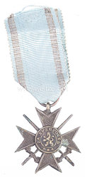 Königreich Bulgarien Tapferkeitsauszeichnung 3. Klasse 1879