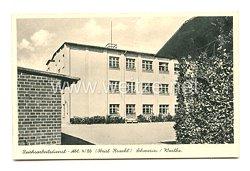 """Reichsarbeitsdienst (RAD) - Postkarte, RAD Abteilung 4/86 Schwerin """"Obrist Kracht"""""""