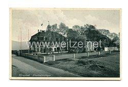 Reichsarbeitsdienst (RAD) - Postkarte, RAD Arbeitslager Pfungstadt