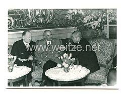 III. Reich Pressefoto: Außenminister Matsuoka und Reichsminister Dr. Frick
