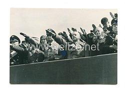 III. Reich Pressefoto: Rudolf Hess auf einer Veranstaltung